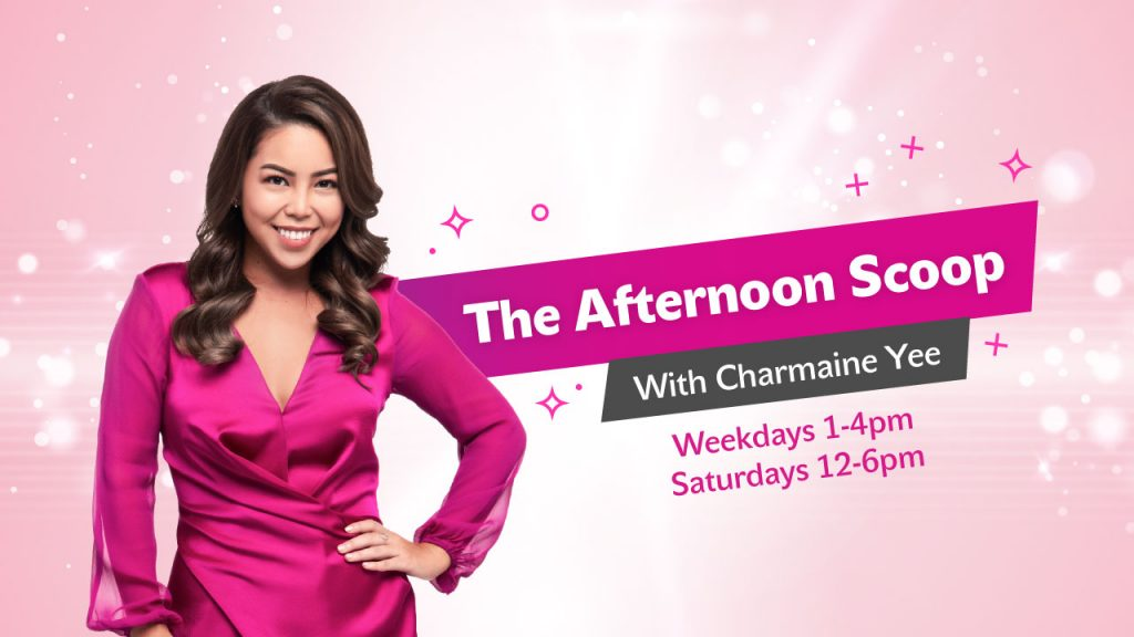 The Afternoon Scoop with Charmaine Yee