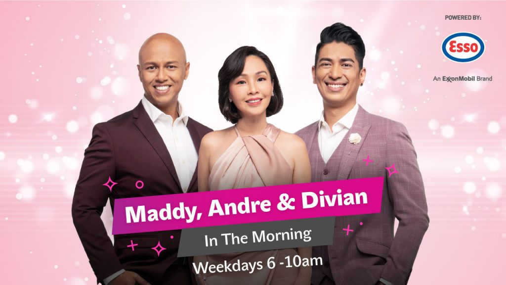 Maddy, Andre & Divian In The Morning
