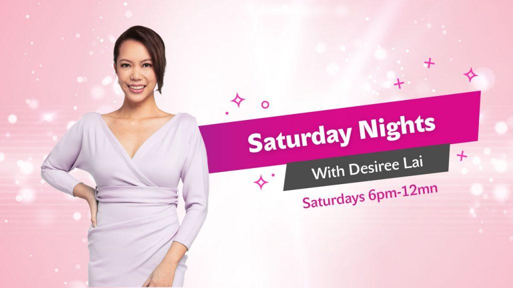 Saturday Nights with Desiree Lai