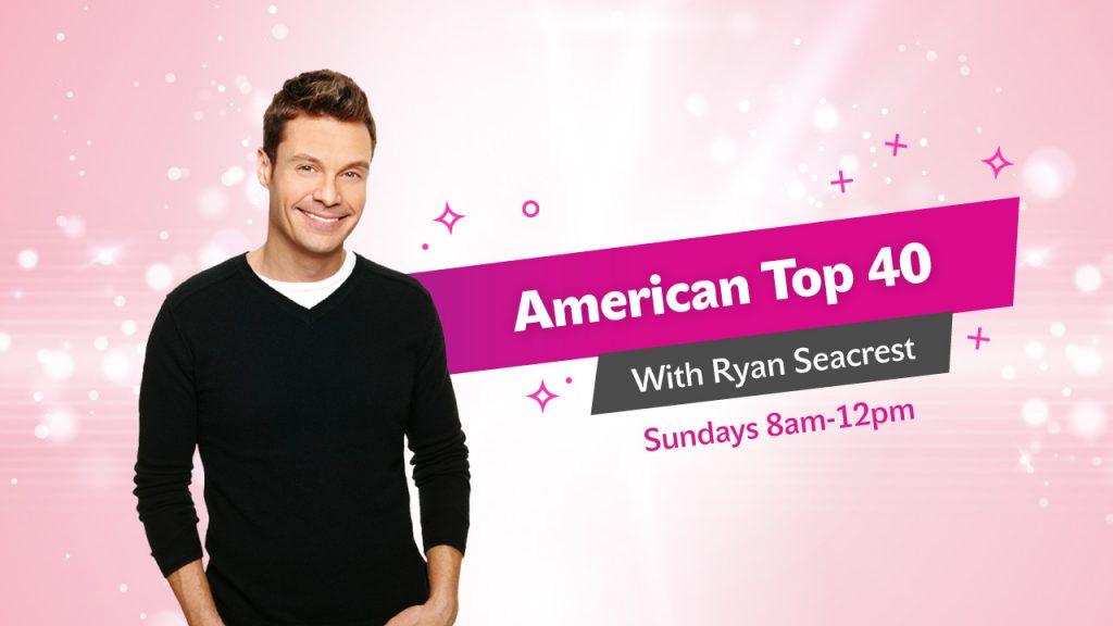 American Top 40 with Ryan Seacrest on Sundays