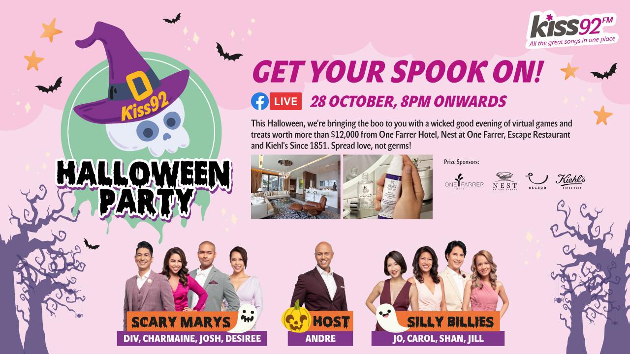 Kiss92 Halloween Party